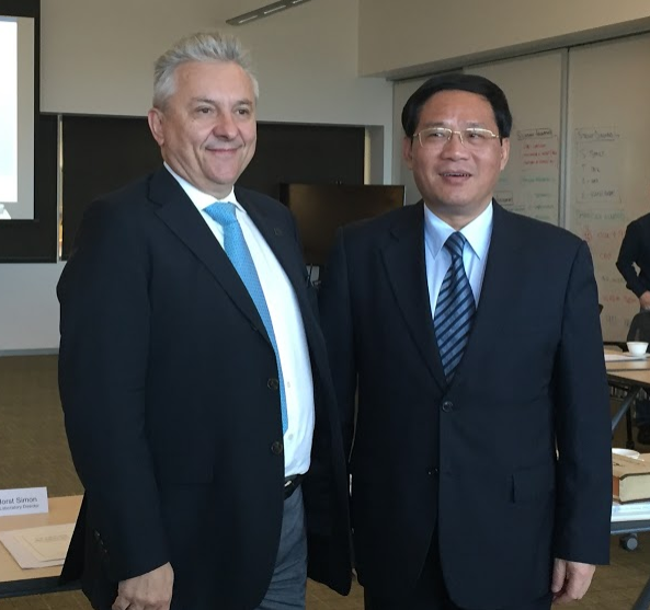 LI Qiang, Governor of Zhejiang Province with Dr. Horst Simon