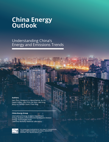 China Energy Outlook 2020 Report Cover